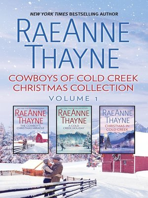cover image of Cowboys of Cold Creek Christmas Collection, Volume 1