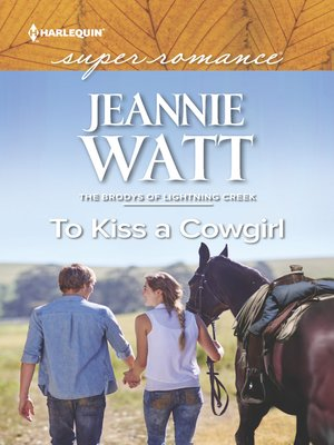 cover image of To Kiss a Cowgirl