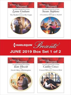 cover image of Harlequin Presents: June 2019, Box Set 1 of 2
