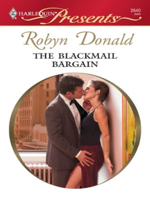cover image of The Blackmail Bargain