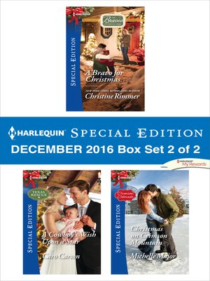 cover image of Harlequin Special Edition December 2016, Box Set 2 of 2