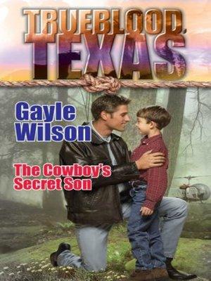 cover image of The Cowboy's Secret Son