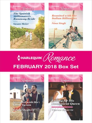 cover image of Harlequin Romance February 2018 Box Set