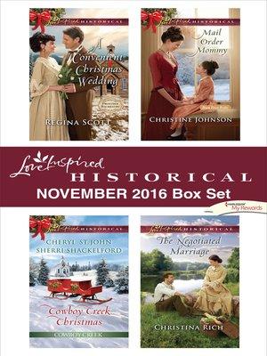 cover image of Harlequin Love Inspired Historical November 2016 Box Set