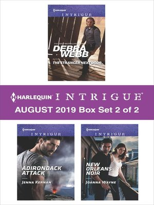 cover image of Harlequin Intrigue August 2019, Box Set 2 of 2