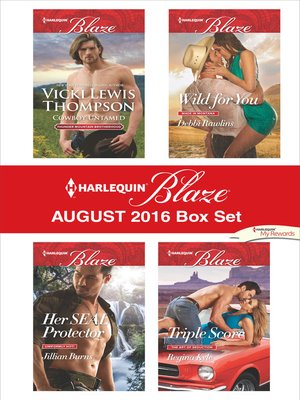 cover image of Harlequin Blaze August 2016 Box Set