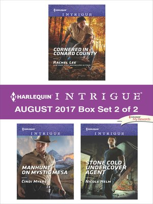 cover image of Harlequin Intrigue August 2017--Box Set 2 of 2