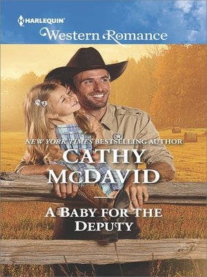 cover image of A Baby for the Deputy--A Single Dad Romance