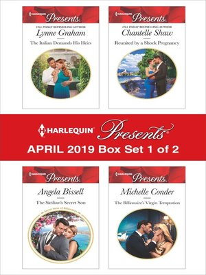 cover image of Harlequin Presents, April 2019, Box Set 1 of 2