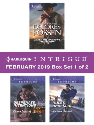cover image of Harlequin Intrigue February 2019, Box Set 1 of 2