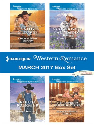 cover image of Harlequin Western Romance March 2017 Box Set
