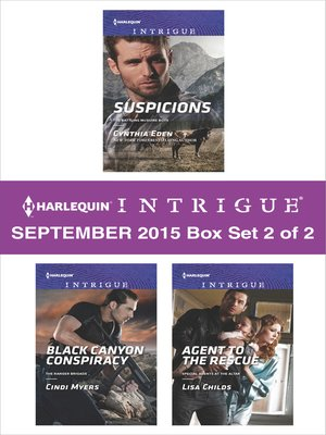 cover image of Harlequin Intrigue September 2015--Box Set 2 of 2