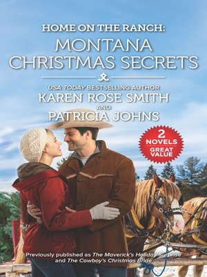 cover image of Home on the Ranch--Montana Christmas Secrets