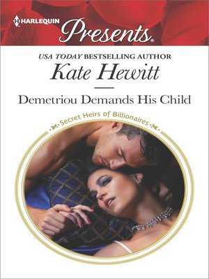 cover image of Demetriou Demands His Child--A Secret Baby Romance