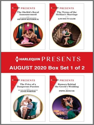 cover image of Harlequin Presents--August 2020--Box Set 1 of 2