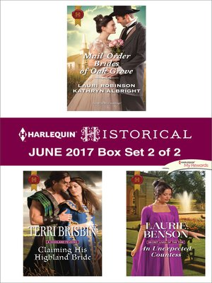 cover image of Harlequin Historical June 2017--Box Set 2 of 2