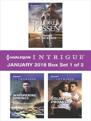 cover image of Harlequin Intrigue January 2018--Box Set 1 of 2