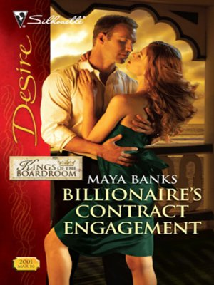 cover image of Billionaire's Contract Engagement