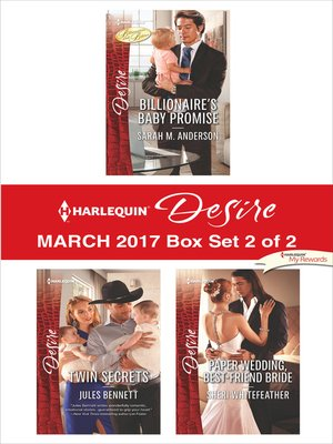 cover image of Harlequin Desire March 2017, Box Set 2 of 2