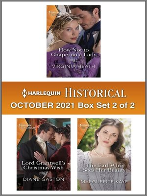cover image of Harlequin Historical October 2021--Box Set 2 of 2