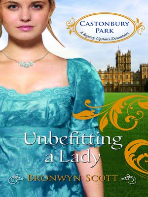 cover image of Unbefitting a Lady