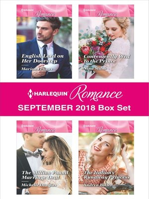 cover image of Harlequin Romance September 2018 Box Set