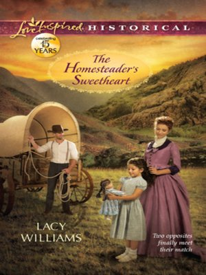 cover image of The Homesteader's Sweetheart