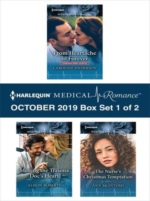 cover image of Harlequin Medical Romance October 2019, Box Set 1 of 2