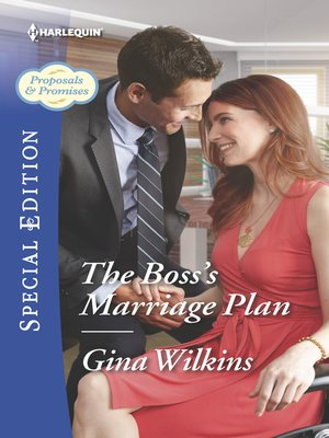 cover image of The Boss's Marriage Plan