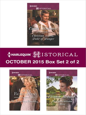 cover image of Harlequin Historical October 2015, Box Set 2 of 2