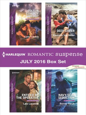 cover image of Harlequin Romantic Suspense July 2016 Box Set