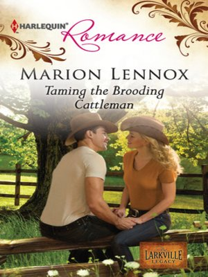 cover image of Taming the Brooding Cattleman