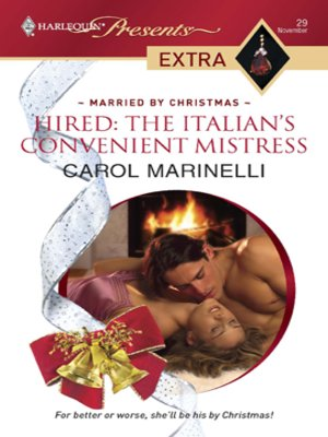 cover image of Hired: The Italian's Convenient Mistress