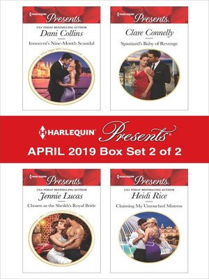 cover image of Harlequin Presents, April 2019, Box Set 2 of 2