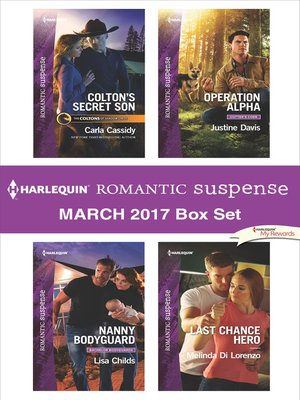 cover image of Harlequin Romantic Suspense March 2017 Box Set