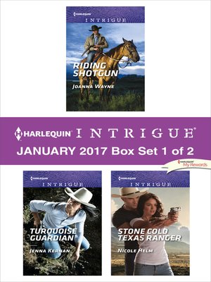 cover image of Harlequin Intrigue January 2017, Box Set 1 of 2