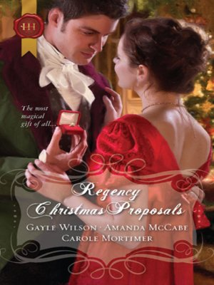 cover image of Regency Christmas Proposals