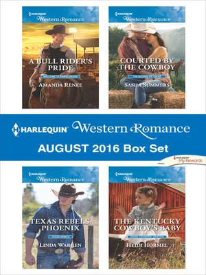 cover image of Harlequin Western Romance August 2016 Box Set