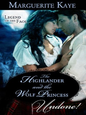 cover image of The Highlander and the Wolf Princess