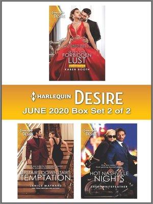 cover image of Harlequin Desire June 2020--Box Set 2 of 2