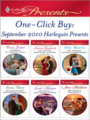 cover image of One-Click Buy: September 2010 Harlequin Presents