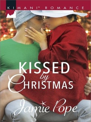 cover image of Kissed by Christmas