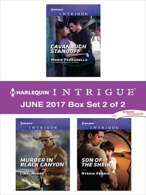 cover image of Harlequin Intrigue June 2017--Box Set 2 of 2