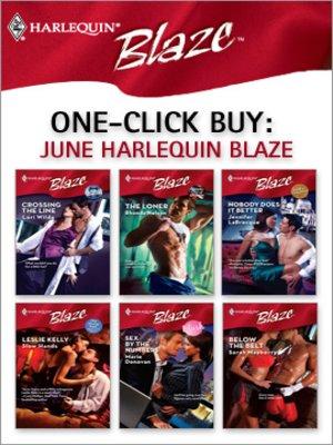 cover image of June Harlequin Blaze