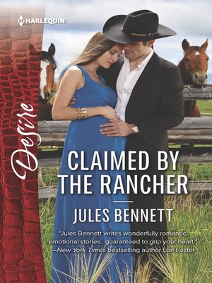 cover image of Claimed by the Rancher--A Sexy Western Contemporary Romance