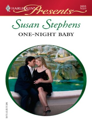 cover image of One-Night Baby