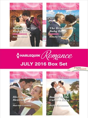 cover image of Harlequin Romance July 2016 Box Set