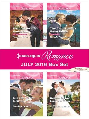 cover image of Harlequin Romance July 2016 Box Set