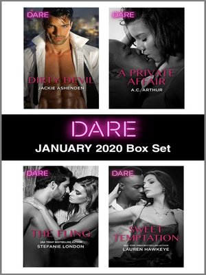 cover image of Harlequin Dare January 2020 Box Set