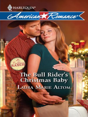 cover image of Bull Rider's Christmas Baby